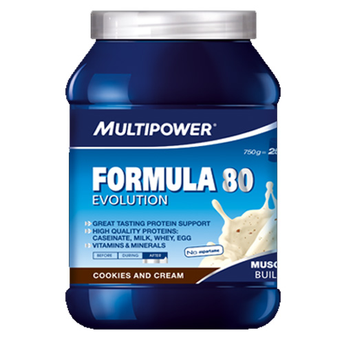 MULTIPOWER Muscle Volume Formula 80 Shake 750 g