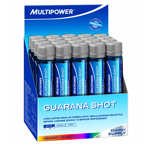 MULTIPOWER Professional Guarana 20 amp. x 25 ml