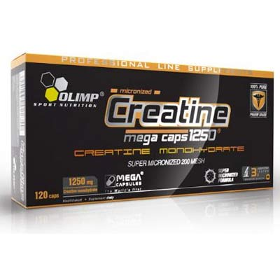 OLIMP Creatine Mega Caps 1250 mg 120 kap.