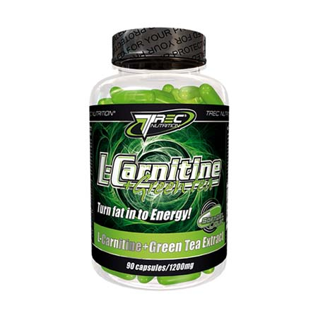 TREC  L-Carnitine + Green Tea SoftGel 90 kap.