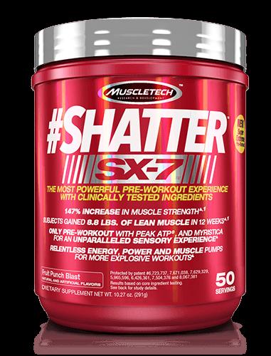 Muscletech Shatter Sx 7 293 G Odżywki Przedtreningowe