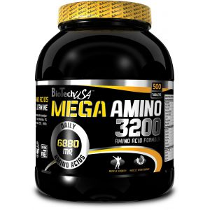 BIO TECH USA Mega Amino 3200 500 tab.