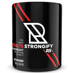 RESULTS Strongify Pre-Workout 300 g + Shaker GRATIS